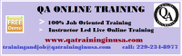 QA Testing Online Training In USA