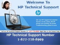 (187 778 8969) HP Printer Tech Support  Phone Number