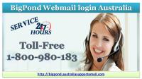 Support Call 1-800-980-183 By Bigpond Webmail login Australia