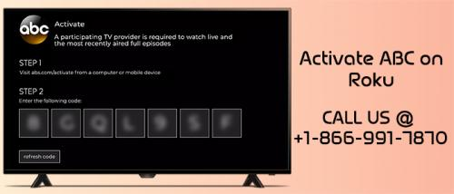 How to activate ABC network on Roku? | Free Classifieds