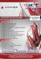 Best AutoCAD 2D & 3D Certification Training in Dubai