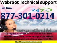 Webroot Technical Support 1-877-301-0214 Phone Number
